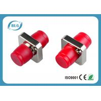 Buy cheap Simplex Square Fiber Optic Connector Adapters For Telecommunications Corrosion Resistant from wholesalers