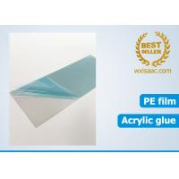 Buy cheap Bright annealed stainless steel scratch protector / low tack protective film 25 micron x 1220mm x 1000 meters from wholesalers