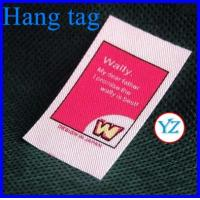 Buy cheap Hang tag for clothes from wholesalers