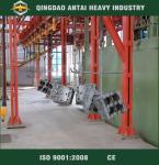 Buy cheap Q38/Q48/Q58 hanger type shot blasting machine from wholesalers
