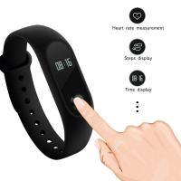 Buy cheap OLED Smart Bracelet Sport Watch Silica Gel Band For Social Sharing Wechat from wholesalers