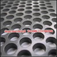 Buy cheap Perforated sheet/iron steel perforated plate/perforated aluminum sheet from wholesalers