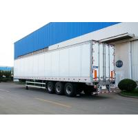 Buy cheap Truck Refrigerated Tractor Trailer Reefer Custom Cargo Trailers High Wall Thickness from wholesalers