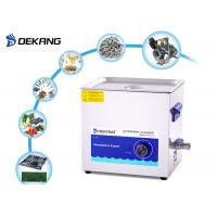 Buy cheap 14L 40KHz Mechanical Ultrasonic Cleaner Stainless Steel For Golf Ball Cleaning from wholesalers