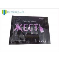 Buy cheap Glossy Finished Clear Window Laminated Plastic Bags Packaging 80 Micron Thickness product