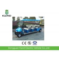 Buy cheap 4 Wheel Electric Club Car Street Legal Golf Carts , Electric Sightseeing Tour Bus from wholesalers