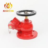 Buy cheap Natural Or Painted Brass / Bronze Oblique Fire Hydrant Landing Valve from wholesalers