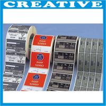 Buy cheap Self adhesive label, Printing label, Custom logo label from wholesalers