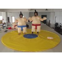 Buy cheap Outdoor Interactive Inflatable Sumo Suits High Durability PVC Tarpaulin Tear Proof from wholesalers