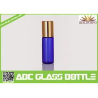 Buy cheap Hot Sale Blue Pocket Roll On Perfume Bottle Glass 3ML 5ML, Blue Perfume Glass from wholesalers
