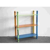 Buy cheap 70CM Height Colorful Crayon Design 3 Layer Storage Shelves Toy Organizer from wholesalers