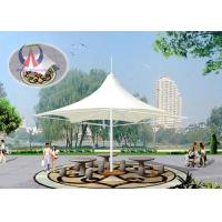 Buy cheap Large Shade Umbrella Shape Tensile Structure Architecture Center Pole Support from Wholesalers