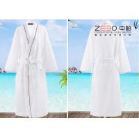 Buy cheap Soft Plain Style Resort Hotel Style Bathrobes For Men 100% Cotton from wholesalers