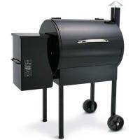 Buy cheap Black Wood Chip Grill Wood Pellet Burning Grills To Make Delicious Food from wholesalers