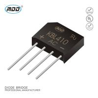 Buy cheap KBL410 Bridge Rectifier  MDD Diode Factory Direct Sale 1000V 4A from wholesalers