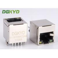 Buy cheap Top insertion RJ45 Ethernet Connector with internal isolation transfomer for tv box from wholesalers