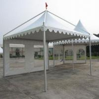 Buy cheap Gazebos, Double Side PVC Coated, Aluminum 6061/T6 Fabric 0.3kN/M2 Max.Allowed Loading, UV-Resistance from wholesalers