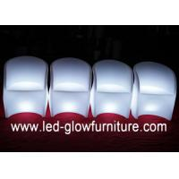 Buy cheap Unique Shape Color Changing Club Bar LED Chair Light with IR / RF Remote Controller from wholesalers