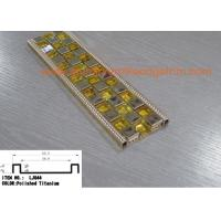Buy cheap Decorative Metal Mosaic Tile Trim , Mirror Ceramic Listello Mosaic Tile Borders from wholesalers