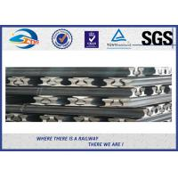 Buy cheap Light Steel Crane Rail 6m To 12m Length / Steel Rail Track from wholesalers