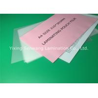 Buy cheap A4 Size Thermal Lamination Film 216 x 303 mm Photo Laminating Pouches from wholesalers