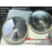 Buy cheap 4A2 The ceramic binder diamond cutter grinds the grinding wheel  Alisa@moresuperhard.com from wholesalers