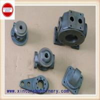 Buy cheap custom-made steel sand casting spare parts for pump and valve from wholesalers