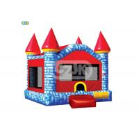Buy cheap Colorful Brick Style Bouncy Jumping Castles Heavy Duty Commercial Grade from wholesalers
