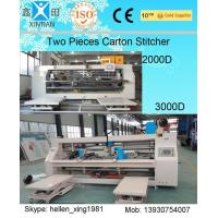 Buy cheap 3 Ply / 5 Ply / 7 Ply Paperboard Box Stitching Machine For Big Size Carton from wholesalers