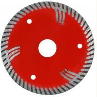 Buy cheap D105-230mm Sintered Diamond Stone Saw Blades With Protected Teeths Fast Cutting from wholesalers
