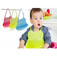 Buy cheap Durable Silicone Kitchen Tools Waterproof Food Catcher Pocket Baby Bibs Silicon from wholesalers