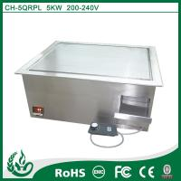 Buy cheap Microcomputer control induction griddle flat plate griddle with 5kw from wholesalers