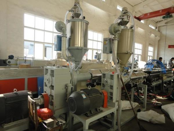 Quality Double Wall HDPE DWC Corrugated Pipe Production Line for sale