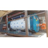 Buy cheap 10Ton Gas Fired Boiler Efficiency Wet Back Structure  Industrial Boiler Use In Milk Factory from wholesalers