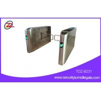 Buy cheap Turn Stiles security swing barrier Gate with RS485 / TCP / IP interfaces , Emergency function from wholesalers