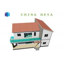 Buy cheap Quick Build Modular Prefab House Villa Luxury Home Construction Light Steel Frame from wholesalers