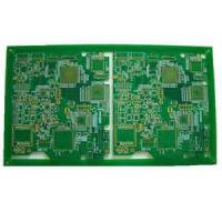 Buy cheap High precision FR4 1oz copper thickness double sided pcb carbon film , peelable mask from wholesalers