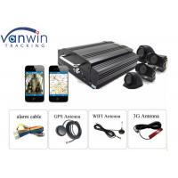 Buy cheap 8 channel 1080P HDD hybrid mobile DVR for vehicle security from wholesalers