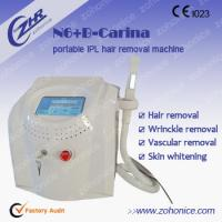 Buy cheap Skin Rejuvenation Portable IPL Hair Removal Machines With Touch Screen from wholesalers