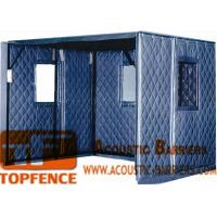 Buy cheap Temporary Sound Barriers static-free non-flammable layer soundproof 40dB noise from wholesalers