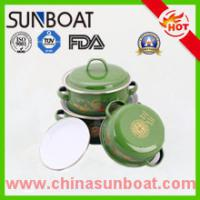 Buy cheap Sunboat Factory Supplying Cast Iron Customized Dimension Enamel Casserole Sets product
