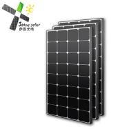 Buy cheap Hotel Roof System SunPower Monocrystalline Solar Cells 100 Watt 1195 x 541 x 30 mm from wholesalers