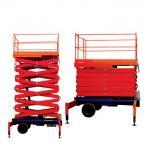 Buy cheap Cheap 5 ton 3-18m ladder lift trailing hydraulic scissor lift elevator platform from wholesalers