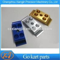 Buy cheap CNC Machined Anodized 28mm 30mm 32mm Go Kart Enigne Mount Lower Clamp from wholesalers