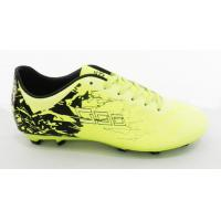 Buy cheap Yellow Professional Flexible Football Outdoor Soccer Cleats Wear Resistance from wholesalers