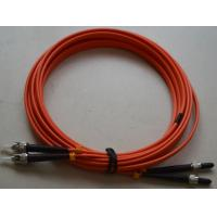 Buy cheap SMA to ST SM Simplex Fiber Optic Patch Cord with LSZH MM Fiber Cable from wholesalers