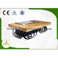 Buy cheap Fleeting Times Teppanyaki Hibachi Grill Equipment , Japanese Restaurant Grill Table from wholesalers