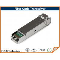 Buy cheap Multimode Fiber 1000BASE SX Optic Transceiver Module Dual LC Connector And DDM from wholesalers