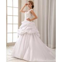 Buy cheap Short Cocktail Party Dresses Romantic Lace Cap Sleeve Halter Neck Wedding Dresses With Heart from wholesalers