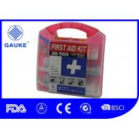 Square Shape General OSHA ANSI First Aid Kit Fast Aid Box For Adults